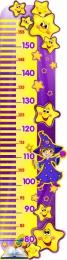 Купить Стенд-Ростомер для группы Волшебники 245*940 мм в Беларуси от 31.00 BYN