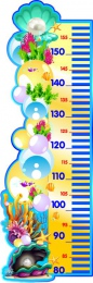 Купить Стенд-Ростомер для группы Жемчужинка 300*900 мм в Беларуси от 31.00 BYN