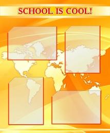 Купить Стенд SCHOOL IS COOL! для кабинета английского языка 700*850мм в Беларуси от 78.00 BYN