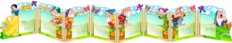 Купить Стенд-ширма Белоснежка и семь гномов в виде папки-передвижки с карманами А4 3380*530мм в Беларуси от 216.32 BYN