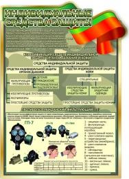 Купить Стенд Средства индивидуальной защиты 680*950 мм в Беларуси от 74.00 BYN