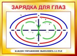 Купить Стенд Зарядка для глаз в золотистых тонах 600*440мм в Беларуси от 30.00 BYN