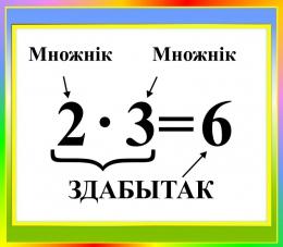 Купить Стенд Здабытак на белорусском языке 400*350мм в Беларуси от 16.00 BYN