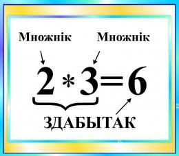 Купить Стенд Здабытак  в бирюзовых тонах на белорусском языке 400*350мм в Беларуси от 16.00 BYN