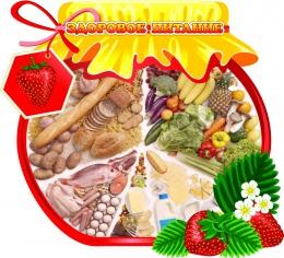 Купить Стенд Здоровое питание с баночкой варенья 550*500 мм в Беларуси от 33.00 BYN