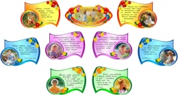 Купить Стендовая композиция Мудрасць выхавання в детский сад 1520*770 мм в Беларуси от 89.00 BYN