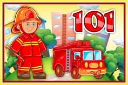 Купить Табличка 101 Пожарная 300*200 мм в Беларуси от 9.00 BYN
