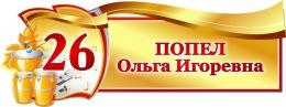 Купить Табличка фигурная для кабинета Музыки 340*130 мм в Беларуси от 7.00 BYN