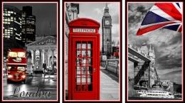 Купить Триптих Лондон для кабинета английского языка 1170*660мм в Беларуси от 87.00 BYN