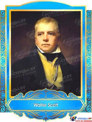 Комплект портретов портретов Знаменитые Британцы в голубых тонах 260*350 мм Изображение #2