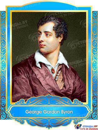Комплект портретов портретов Знаменитые Британцы в голубых тонах 260*350 мм Изображение #8
