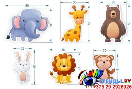 Комплект наклеек для интерьера детской комнаты Изображение #1