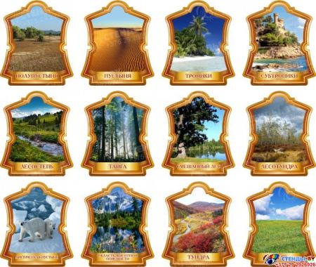 Комплект стендов Природные зоны Земли