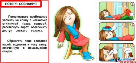 Композиция Основы безопасности жизнедеятельности 1820*890мм Изображение #11