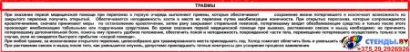 Композиция Основы безопасности жизнедеятельности 1820*890мм Изображение #7