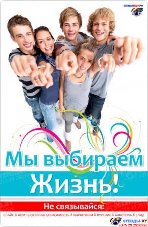 Вертушка-книжка информационная Мы Выбираем Жизнь Изображение #8