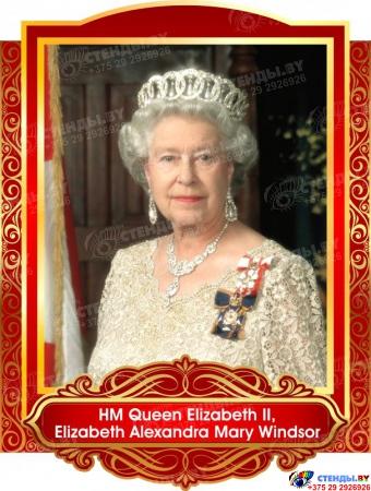 Комплект портретов  Знаменитые Британцы для кабинета английского языка золотисто-красные 260*350 мм Изображение #8