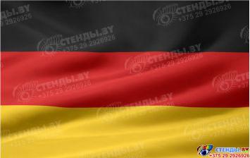 Стенд Флаг Германии в кабинет немецкого языка 300*180мм