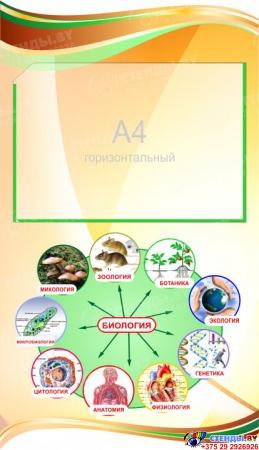 Стенд фигурный Биология - наука о жизни! 1900*650мм Изображение #4