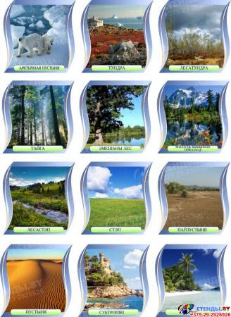 Комплект стендов для кабинета географии Падарожжа Вакол Свету на белорусском языке Изображение #6