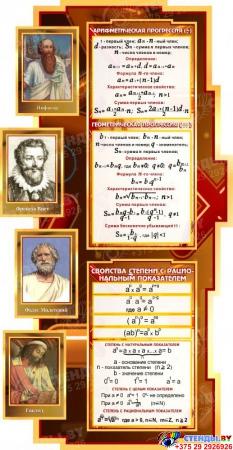 Стенд в кабинет Математики Математика вокруг нас с формулами 1800*955мм Изображение #6