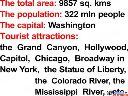 Стенд Достопримечательности англоговорящих стран в серо-красных тонах 750*760мм Изображение #4